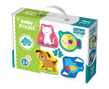 [Baby puzzle - Domácí mazlíčci]