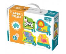 [Baby Puzzle - Zvieratká zo safari]