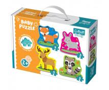 [Baby puzzle - Zvířádka z lesa]