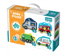 [Baby puzzle - Zásahová vozidla]