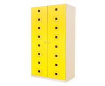 [Dveře 8 - MDF - Čtverce - žluté]