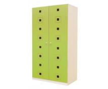[Dveře 8 - MDF - Čtverce - zelené]