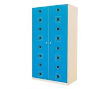 [Dveře 8 - MDF - Čtverce - modré]