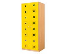 [Dveře 6 - MDF - Čtverce - žluté]