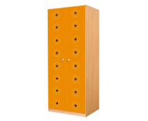 [Dveře 6 - MDF - Květy - oranžové]