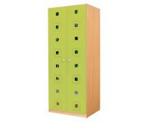 [Dveře 6 - MDF - Čtverce - zelené]