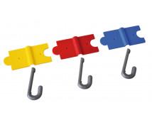 [Bezpečný puzzle vešiak - žltý]