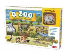 [Pozdĺžne puzzle Rozprávaj - O zoo]
