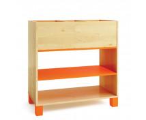 [Skříňka na knihy - oranžová]