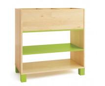 [Skříňka na knihy - zelená]