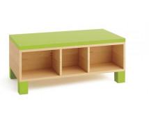 [Skříňka na sezení - zelená]