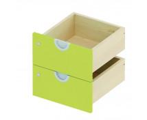 [Zásuvky na psací stůl, se zámkem - zelené]
