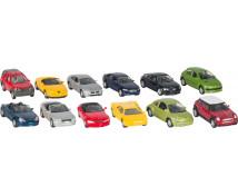 [Modely autíček, 24 ks]