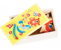 [Hračky - puzzle v krabičke]