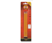 [Grafitové ceruzky, 3 ks]