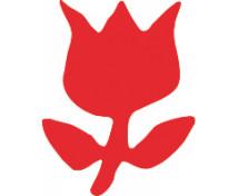 [Dierkovač 1,8cm - tulipán]