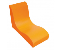 [Fotel SOFT Relax dla 1 dziecka - pomarańczowy]