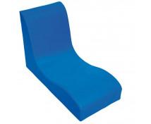 [Fotel SOFT Relax dla 1 dziecka - niebieski]