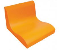[Fotel SOFT Relax dla 2 dzieci -pomarańczowy]