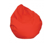 [Textilní sedací vak / Rehabilitační hruška - červená]