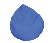 [Textilní sedací vak / Rehabilitační hruška - modrá]