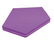 [Matrace 4- fialová, tloušťka 10 cm]