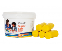 [Creall - ultra jemná modelovacia hmota - žltá 1750g]