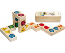 [3D domino počet tvary]