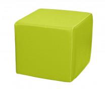 [Pufa KWADRAT 35 cm - zielona]