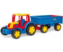 [Velký traktor s vlečkou]