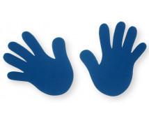 [Rúčky modré - 4 ks]