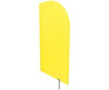 [Předělovací stěna žlutá 60 x 120 cm]