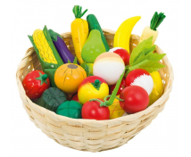 [Ovocie a zelenina v košíku]