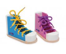 [Barevné boty s tkaničkami, 2 ks]
