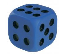 [Veľká plastová kocka s bodkami]