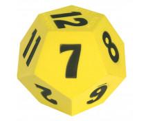 [Veľká penová kocka s číslami]