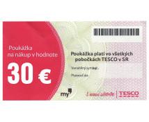 [TESCO poukážka 30 eur]