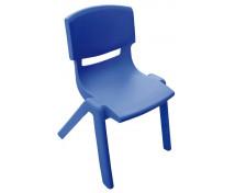 [Stolička plast. 26 cm modrá]