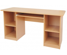 [Multiúčelový písací stôl - odtieň BUK]