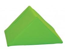 [Trojuholník krátky - koženka/zelená]