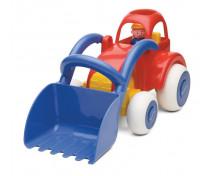 [Jumbo Traktor s lyžicou]