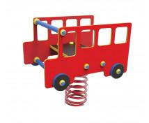 [Houpačky na pružině z HDPE - Autobus]