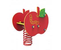 [Hojdačky na pružine z HDPE - Jablko]