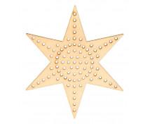 [Vyrob si dárek - Hvězda na vyšívání]
