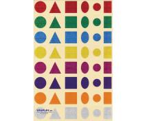 [Nálepky - Trblietavé tvary (480 ks)]