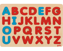 [Montessori vkládací puzzle ABC]