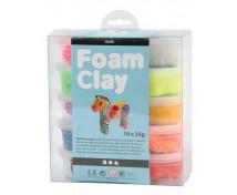 [Foam Clay - základné farby, 10 farieb]