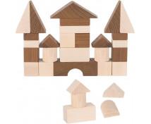 [Nature drevené kocky, 30 ks]