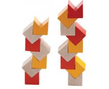 [3D stavebnice oranžová]