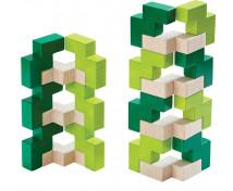 [3D stavebnica zelená]